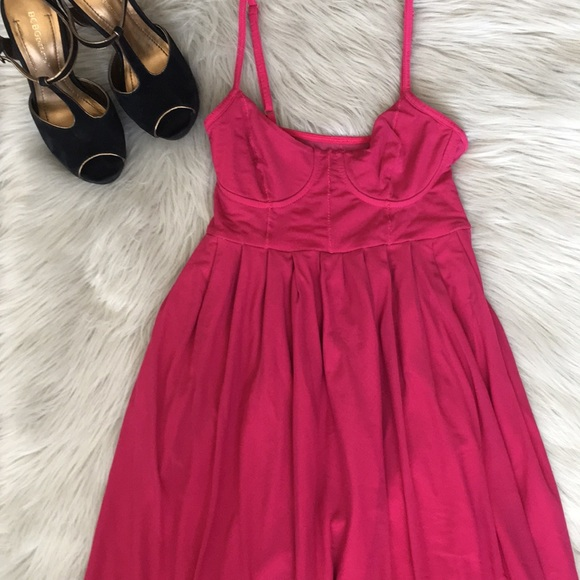 94c18ac9f Urban Outfitters Dresses | Uo Silence Noise Hot Pink Dress | Poshmark